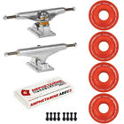 Independent Trucks Ricta SKATEBOARD 78a Crystals Clouds Wheels PACKAGE Abec 5