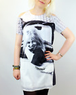 SALE! NEW BRIGITTE BARDOT 'KELLY' RETRO PRINTED SHIFT DRESS IN GREY/WHITE S16C