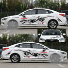 1 Set DIY Suv Car Dragon Pattern Stickers Hood Body Bumper Waistline Decals