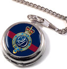 Minden Band of the Queen's Division Full Hunter Pocket Watch