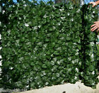 Best Artificial English Ivy Leaf Screening 3m x 1.5m Hedging Wall Garden Fence