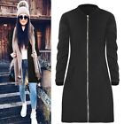 winter fashion for ladies - Fashion Warm Zipper Long Trench Coat Overcoat For Women Girl Ladies Winter hot