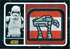 Star Wars Journey to Last Jedi Galactic Emblem Patch Relic MP-SP Stormtrooper