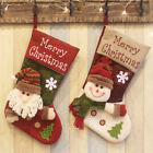Large Creative Design Christmas Stocking Chrismas Decorations Tree Ornaments