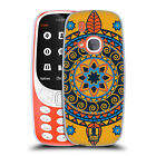 HEAD CASE DESIGNS INDIAN MONOGRAMS SOFT GEL CASE FOR NOKIA 3310 (2017)