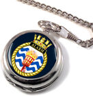 HMS Alarm Full Hunter Pocket Watch