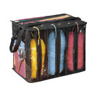 Yarn and Knitting Supplies Tote Organizer with Carrying Strap