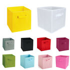 Square Home Storage Box Household Organizer Fabric Cube Thick Basket Container