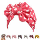 Newborn Baby Infant Girl Toddler Comfy Bowknot Hospital Cap Beanie Hat 1-8#Color