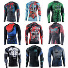 Mens GYM Compression Under Base Layer Tight Tops Sports T-Shirts Athletic armour
