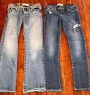 GIRLS LOT JEANS SIZE 10 ALL ABERCROMBIE Back To School Haley
