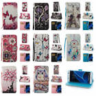 For Samsung Galaxy S7 Edge Fitted Printed Leather Wallet Purse Strap Case Cover