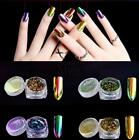 Sexy Gorgeous Chameleon Mirror Nail Art Powder Manicure Chrome Pigment Glitters#