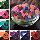 Bulk New 4/6/8/10mm Jelly Like Round Crystal Glass Loose Spacer Beads Findings
