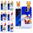 Ultra Thin Christmas Gift Case & Soft TPU Back Cover for Samsung Galaxy S7 Edge