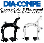 Внешний вид - Dia Compe MX-806 Side Pull Bike Brake Caliper 47-57mm Front/ Rear Black/ Silver