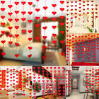 Non-woven Heart Garland Hanging Wedding Birthday Party Baby Shower Decoration