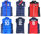 Polo Ralph Lauren Mens Down Filled Feather Vest Flag Jacket USA England Italy