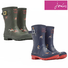 Joules Molly Mid Height Wellies Welly Wellington Boots (X) **FREE UK Shipping**