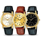 Casio Men's Leather Quartz Watch 10 Varieties to choose from