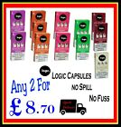 LOGIC PRO VAPE SYSTEM 2  REPLACEMENT CAPSULES  MENTHOL VANILLA STRAWBERRY CHERRY
