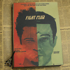 Classic Movie Fight Club Kraft Paper Poster Wall Decals Poster home Bar Wall Dec