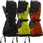 509 Men's Backcountry Waterproof Insulated Snow Gloves - Black Lime or Orange