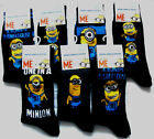 Mens Minions Despicable Me Character Socks Uk Size 6 - 11  Eur 39 - 45  New