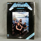 Metallica - Complete Volume 2 Gutiar Tab Songbook And Justice For All + Black LP