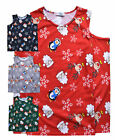 Girls Christmas Top New Kids Cold Shoulder Long Sleeved Xmas T Shirt 7 - 13 Yrs