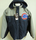 NEW Sz S-5XL Navy Blue Gray MLB Hooded Zip Up Lined MENS #785 Coat Jacket