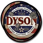 Dyson Family Name Drink Coasters - 4pcs - Wine Beer Coffee & Bar Designs