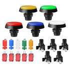 5pcs Arcade Video Game Large Round Push Button Switch LED Light Illuminated Lamp