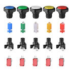 Replacement Parts - 5pcs Arcade Video Game Large Round Push Button Switch LED Light Illuminated Lamp