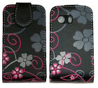 Fancy Flourish Protective Leather Pouch Flip Case Cover Samsung Galaxy Y S5360