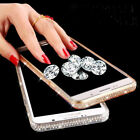 Hot Luxury Diamond Ultra-thin Soft Silicone TPU Case Cover For iPhone X 7 8 Plus