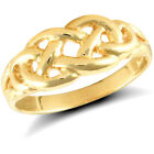 Ladies Solid 9ct Gold Celtic Filligree Knot Ring