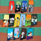 Fashion Statue of Liberty Painting Women Warm Socks Cotton Ankle-High Socks Xmas