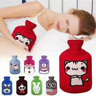 2000ml Water Bottles Knit Heat Insulated Cover Case Warm Keeping Bag Protector