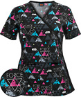 A New Hope Cherokee Star Wars Tooniform Mock Wrap Scrub Top 6988C SRAN $54.99 USD on eBay