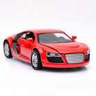 Xmas Gifts 1:32 AUDI R8 Diecast Model Car Kid  Alloy Pull Back Collection Toy