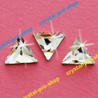 Genuine Swarovski 2720 Cosmic Delta 7.5mm ( Hotfix ) Iron On Rhinestone Triangle