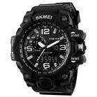 Fashion Watch PU Band SKMEI Digital Watches Military Mens Alarm Date Watches