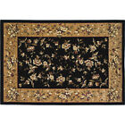 "59""x39"" Floral Rectangle Fire Resistant Fireplace Hearth Rug Carpet"