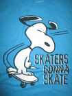 """Peanuts SNOOPY """"Skaters Gonna Skate"""" (Youth XL) T-Shirt"""