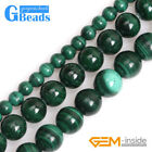 """Natural Malachite Grade A Stone Round Beads Free Shipping 15"""" 3mm 6mm 7mm 8mm"""
