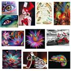 DIY 5D Abstract Diamond Canvas Embroidery Painting Cross Stitch Home Wall Decor