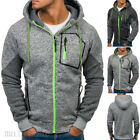 Men's Outwear Sweater Winter Hoodie Warm Coat Jacket Slim Hooded Sweatshirt Tops