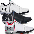 Under Armour Mens UA Spieth One Leather Waterproof Tour Golf Shoes