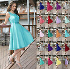 Short Cocktail Party Dress Formal Evening Prom Gown Bridesmaid Dress Size 6-22